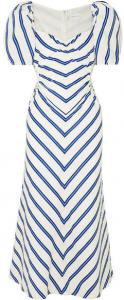 Alice McCall Striped Cutout Dress