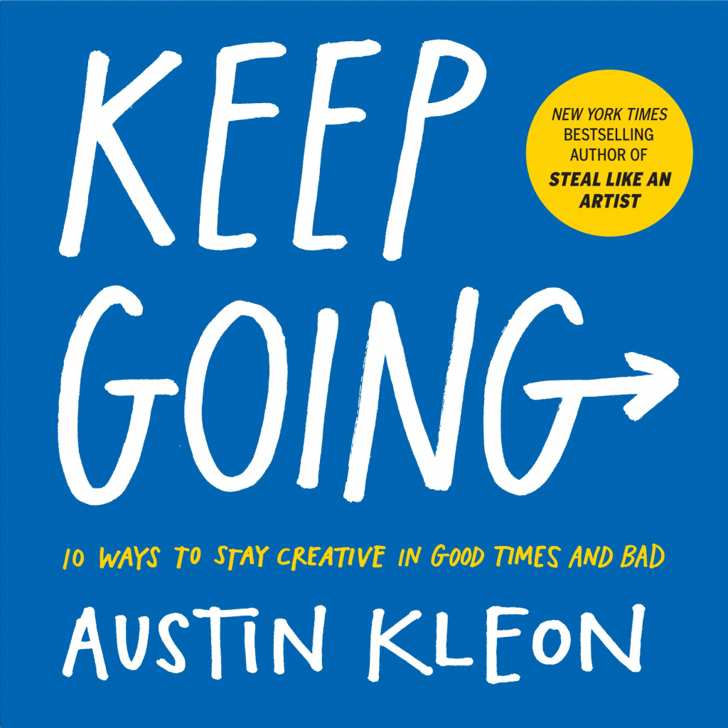 keep going creative book