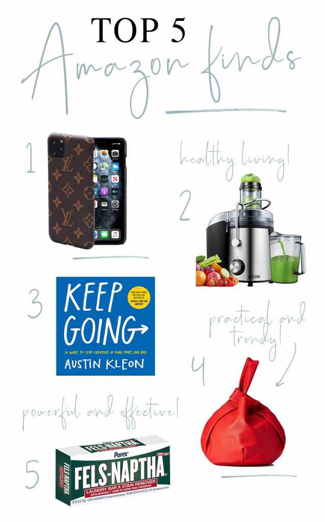 top 5 amazon finds feb