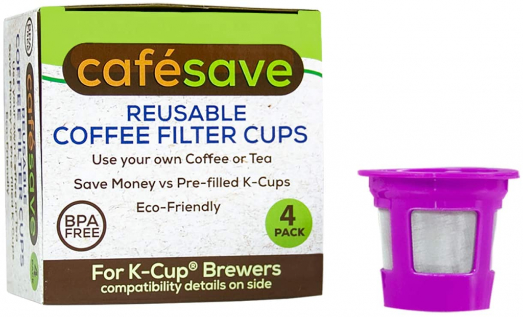 reusable coffee filter cup