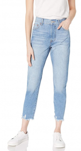 amazon the drop frayed mom jeans