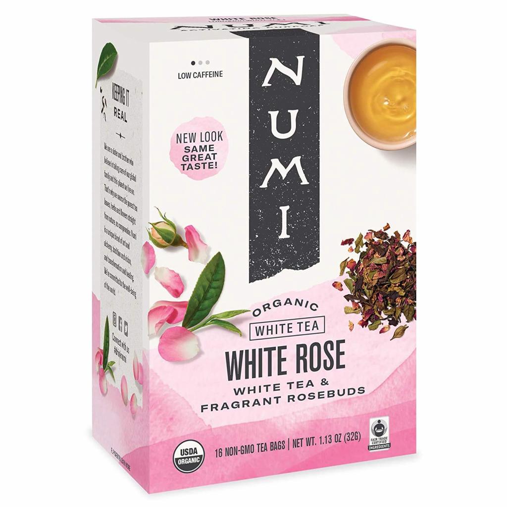 white rose tea bags