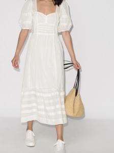 prairie white dress