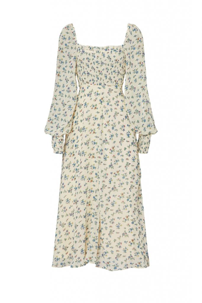 floral smocked dress rtr