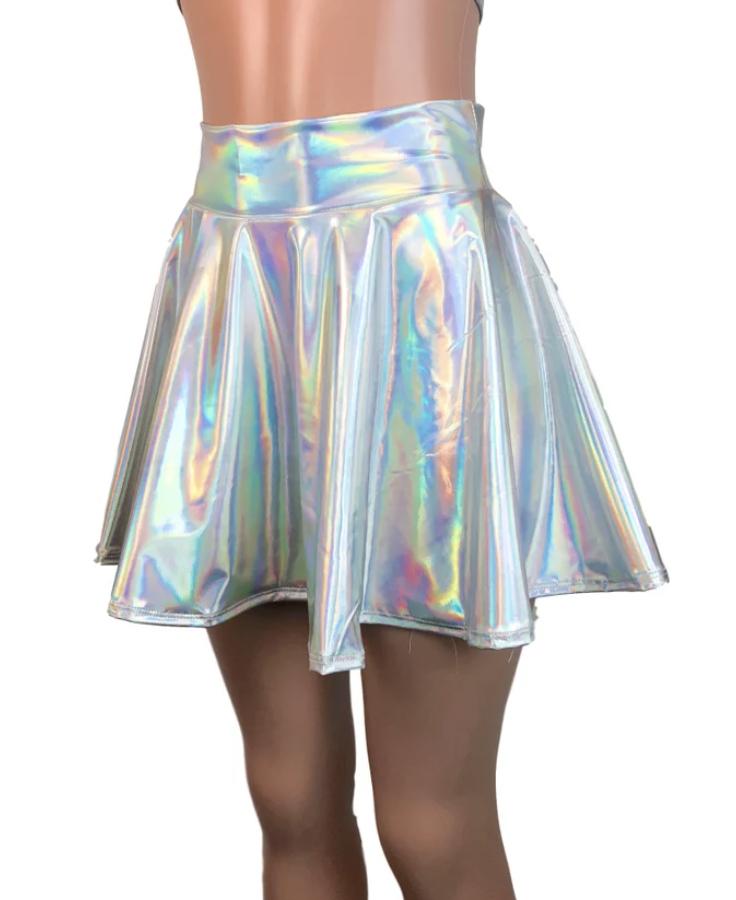 holographic skirt alien