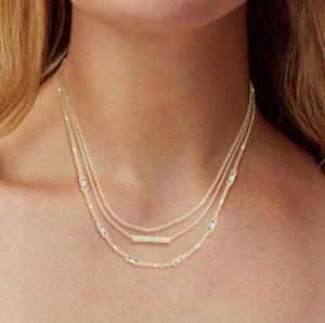kendra scott layered necklace