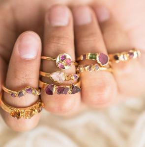 etsy ruby ring