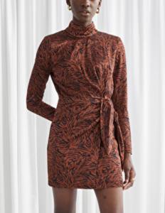mini shoulder dress