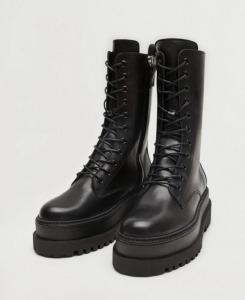 lace up combat boots