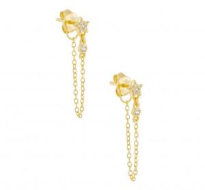drape earrings