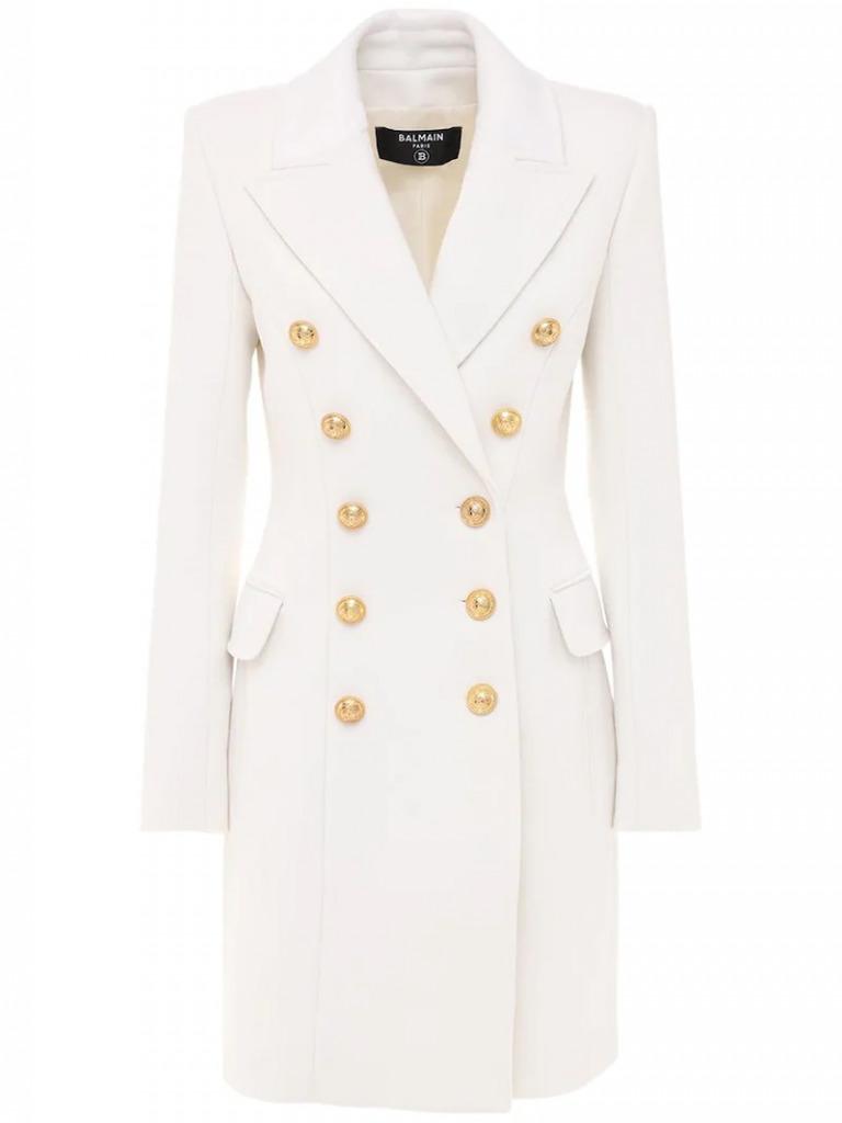 balmain coat