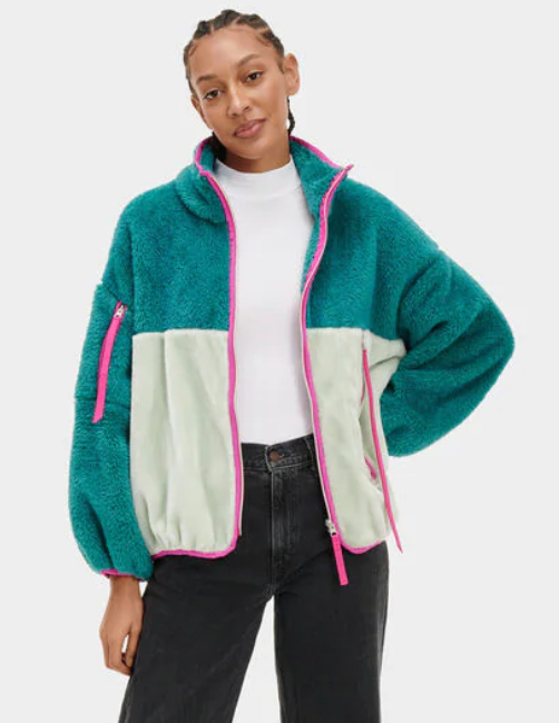 Marlene Sherpa Jacket - $128
