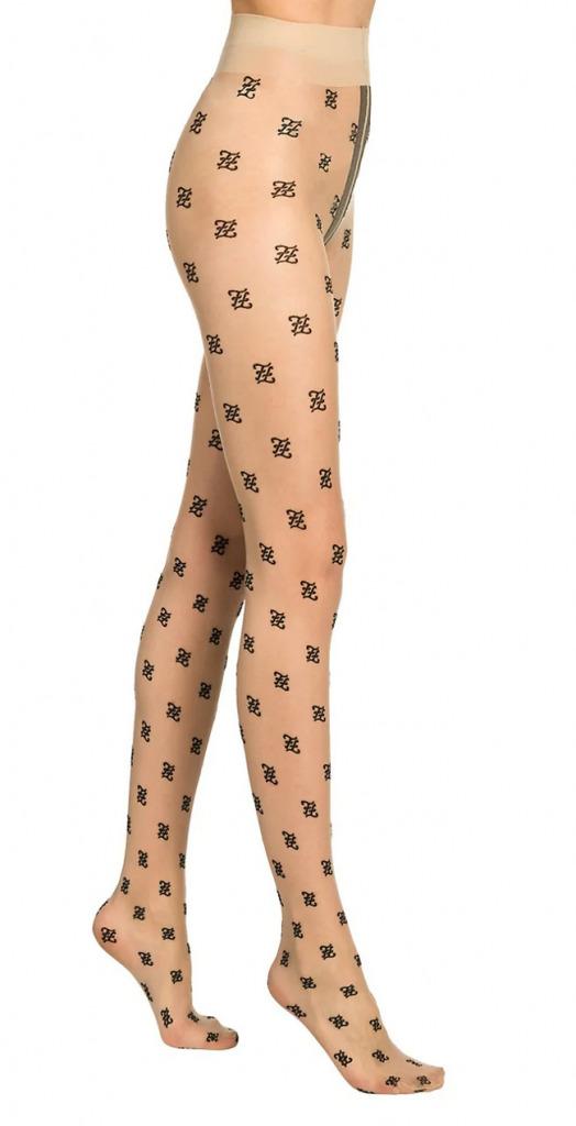 fendi logo tights