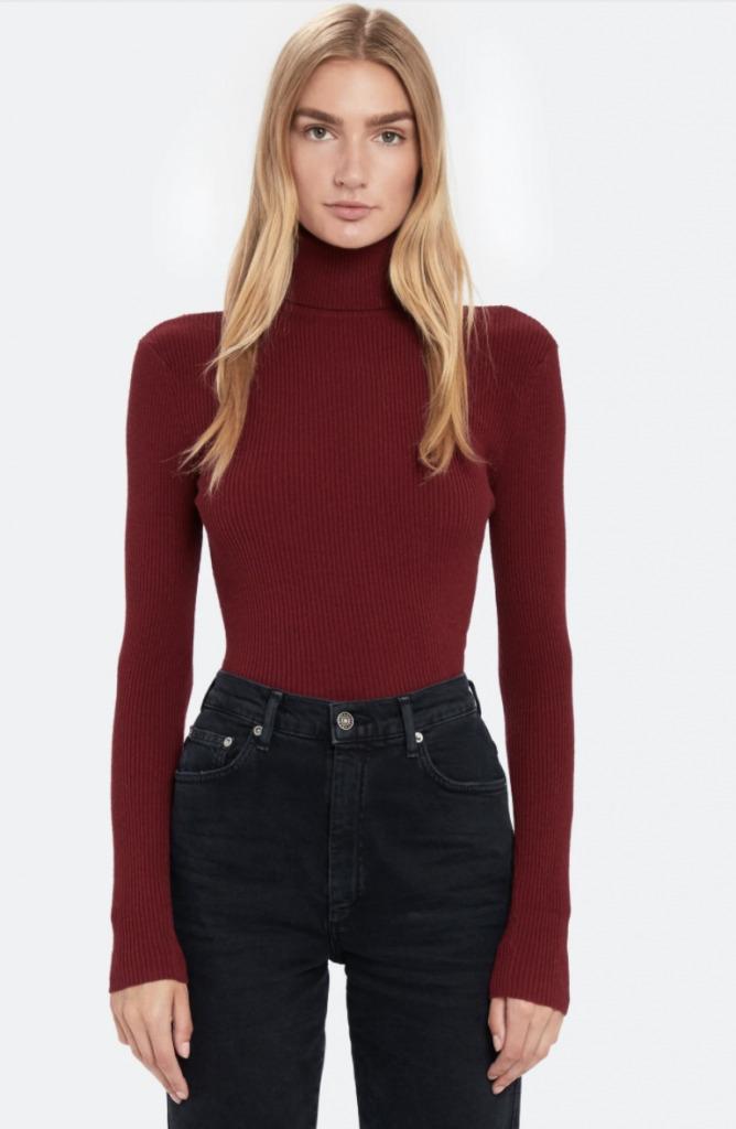 billie the label sweater
