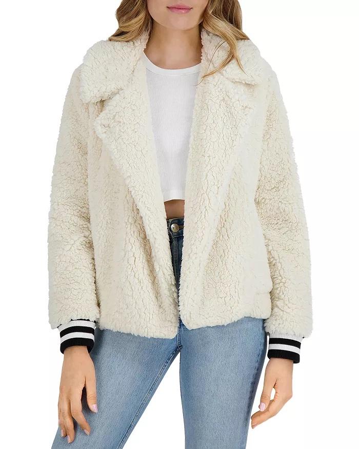 fleece love coat