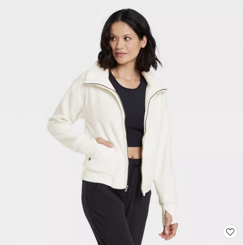 target sherpa jacket