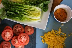 blt salad no crumbs left