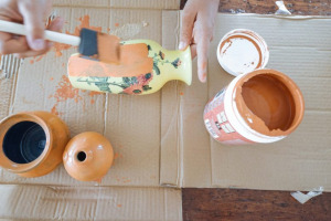 terracotta paint