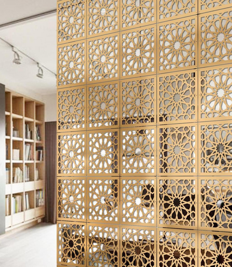 cut out room divider