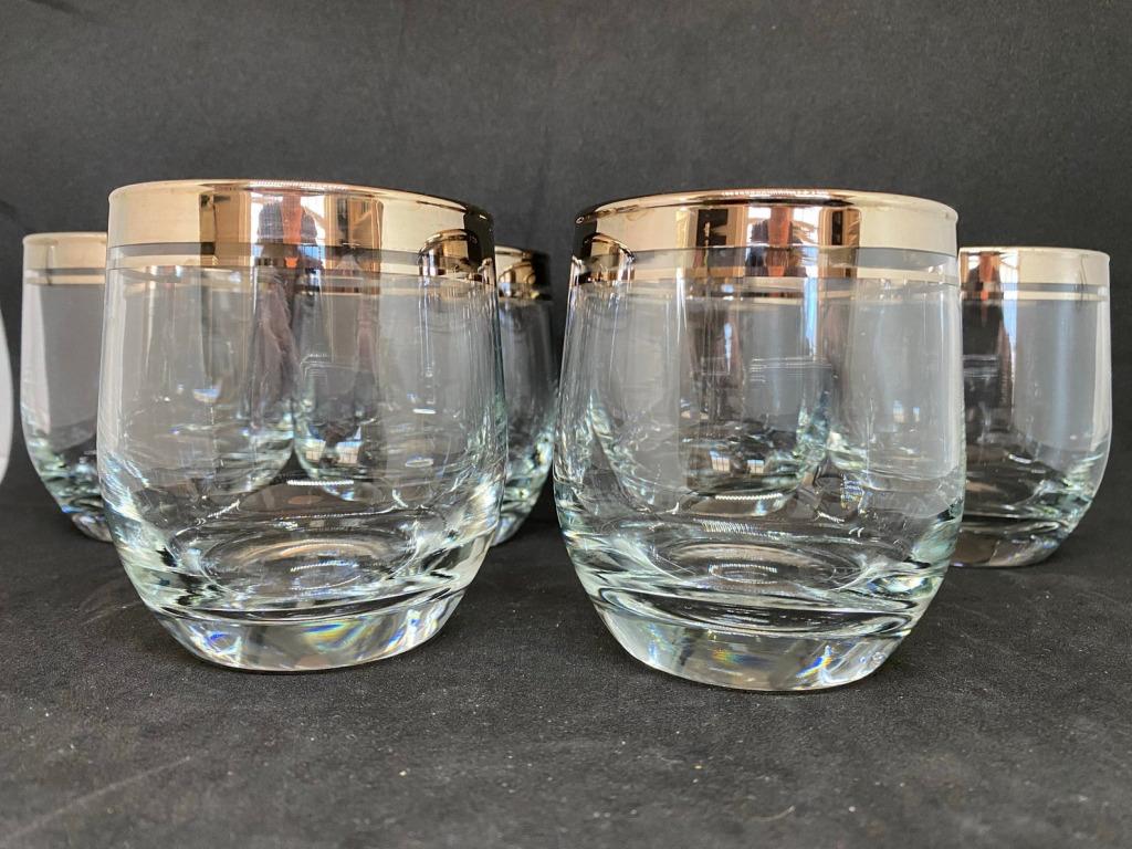 cocktail glasses