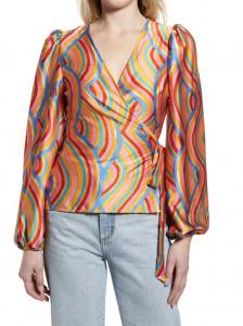 rainbow swirl top