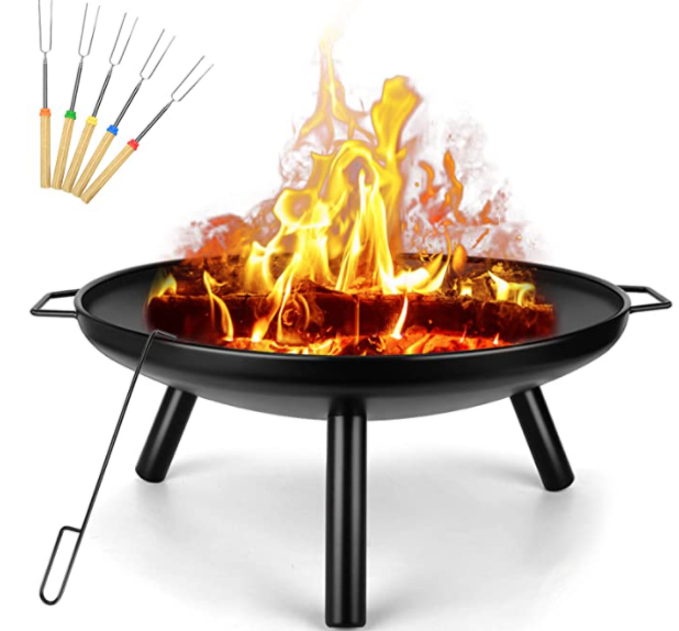 SUNLIFER Wood Burning Fire Pit