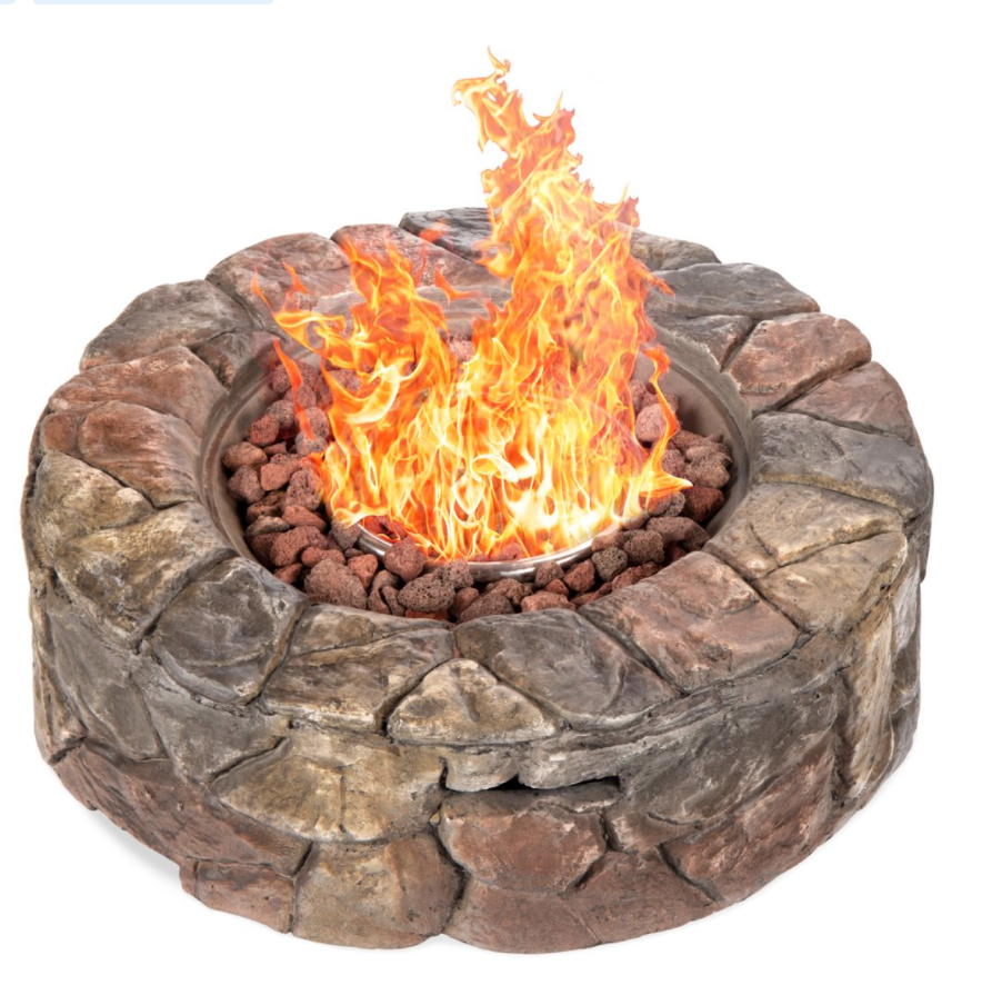 Gas Fire Pit for Backyard
