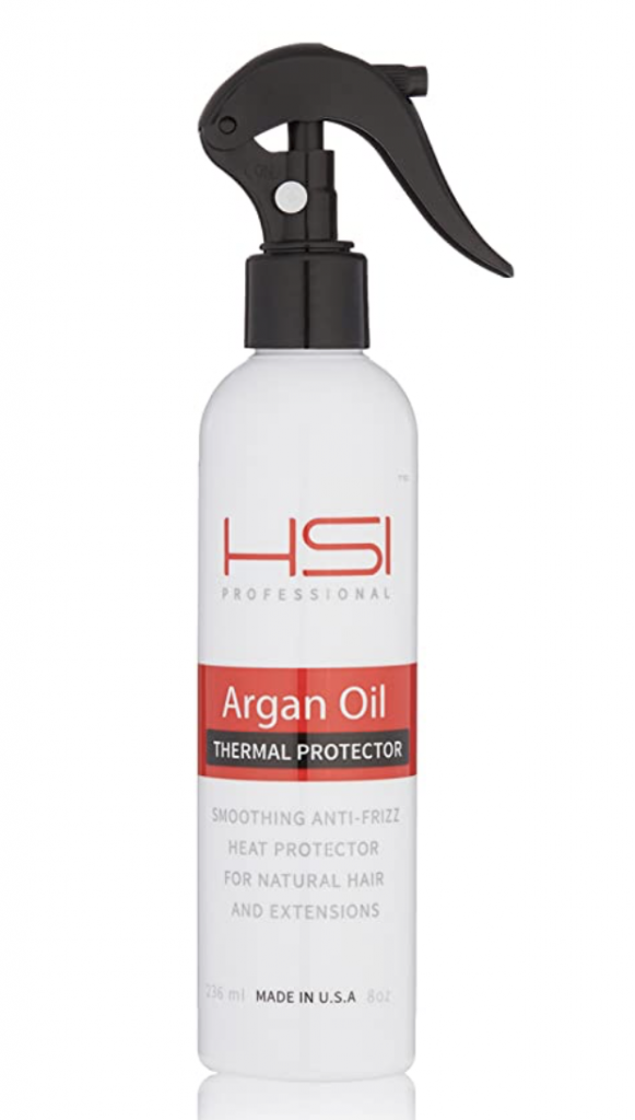argan oil heat protectant