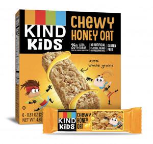 honey oat bars kind