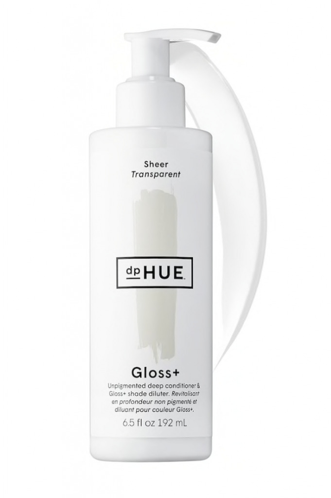 hair gloss and conditioner