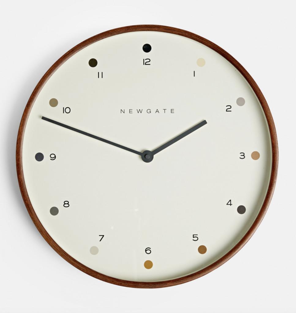 scandinavian clock