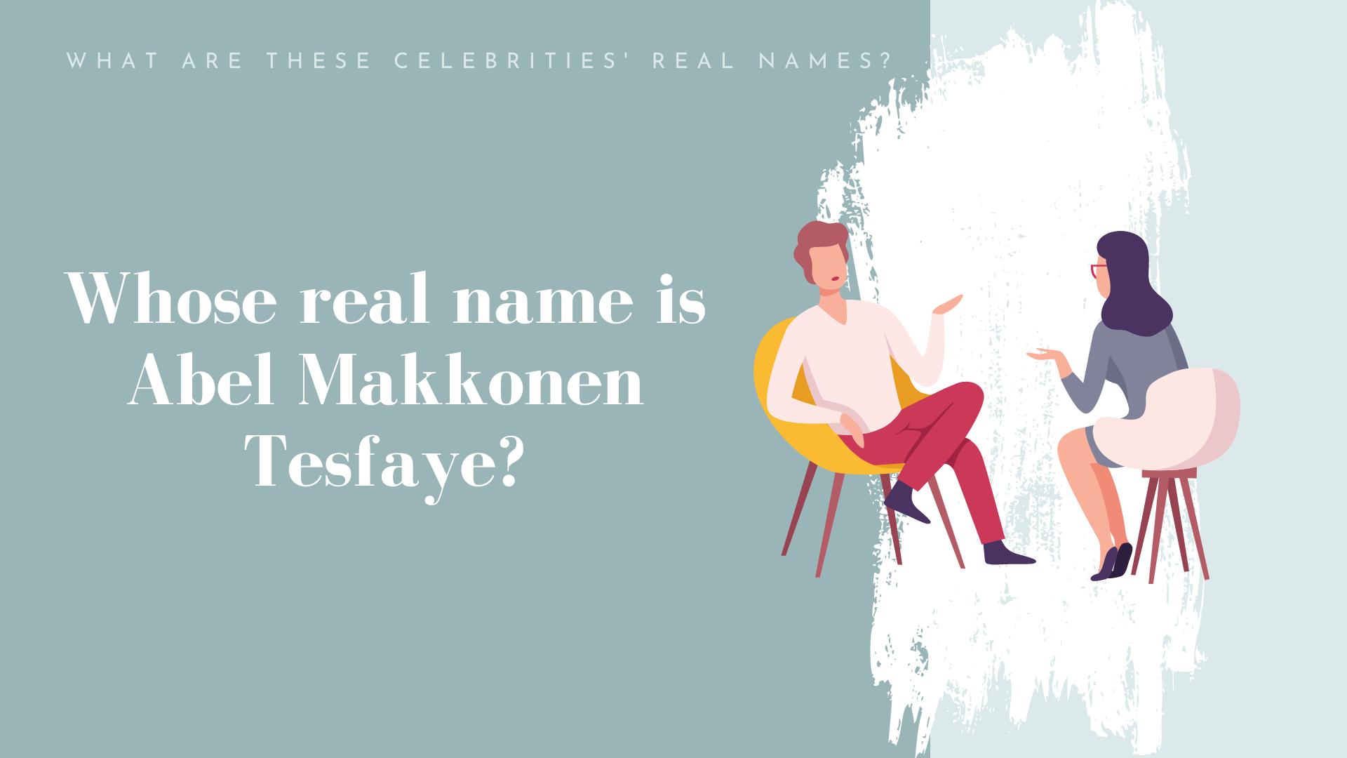 celebrity names