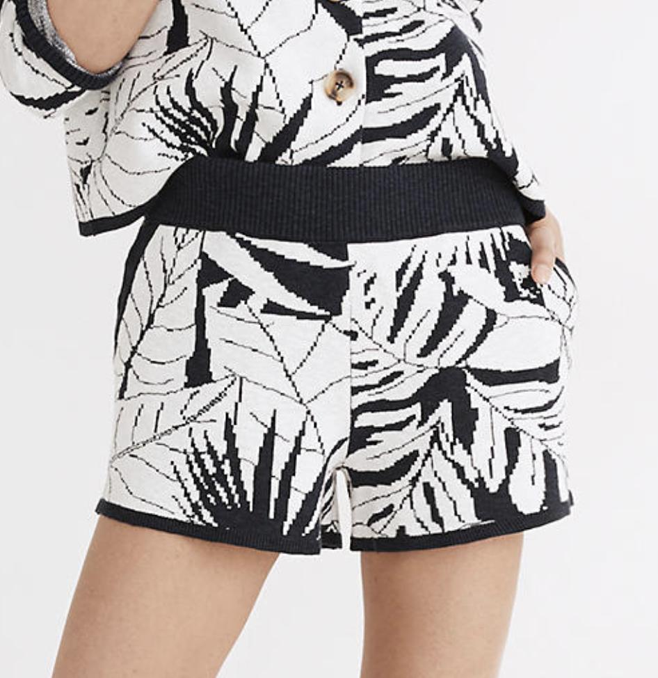 patterned shorts