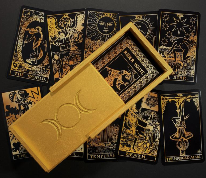 Black & Gold Tarot Deck