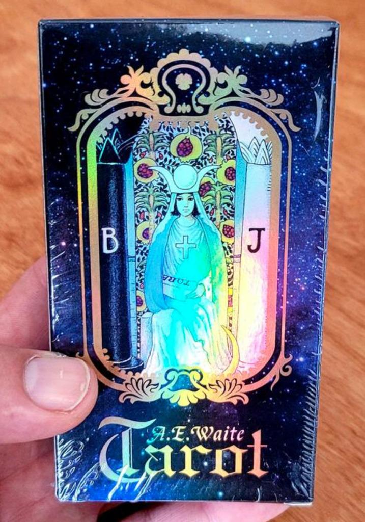 Tarot Card Deck Holographic