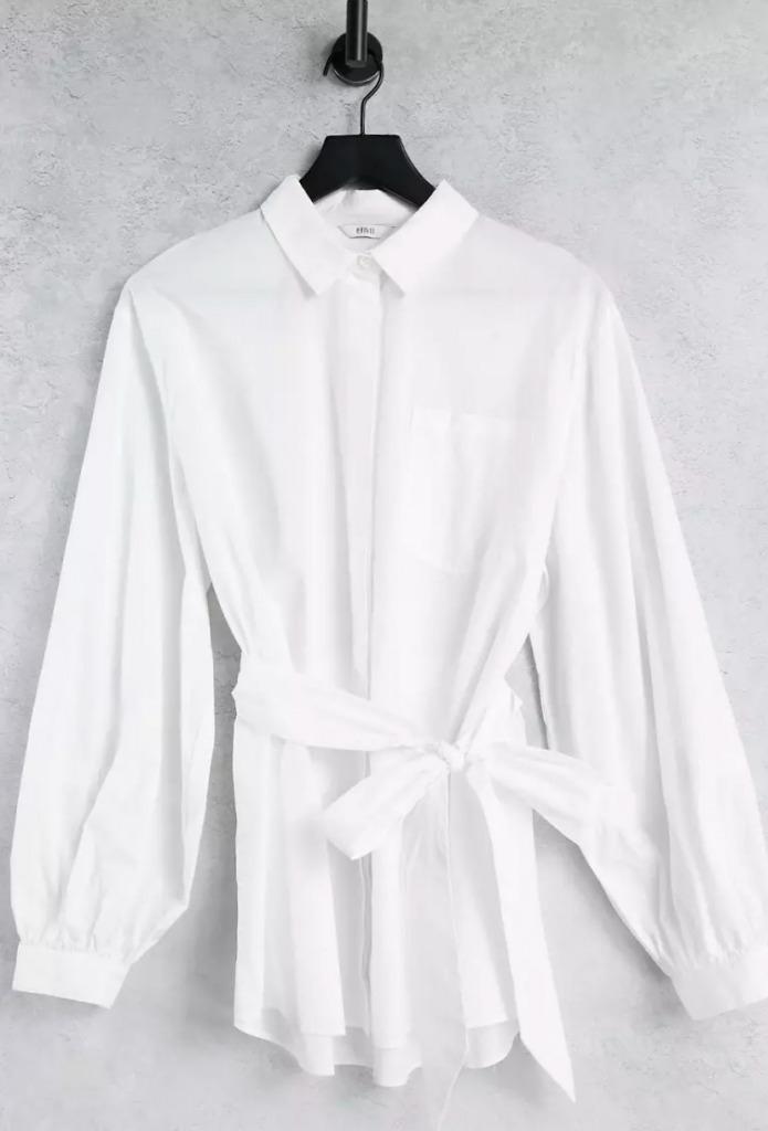 Envii Petra shirt in white