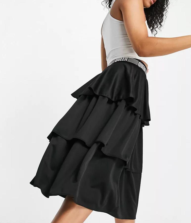 Puma Queen frill tiered skirt