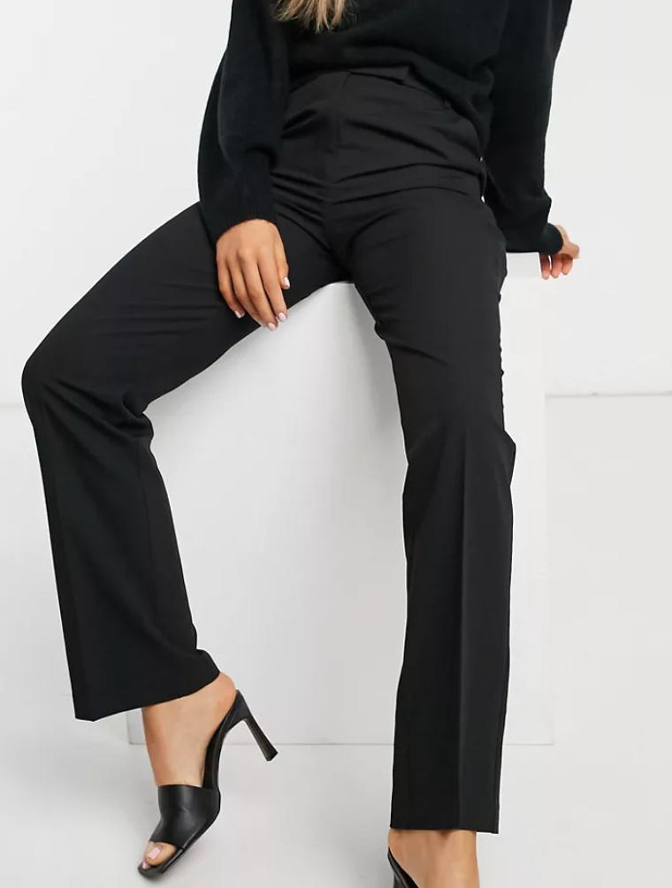 ASOS DESIGN tailored straight leg pants