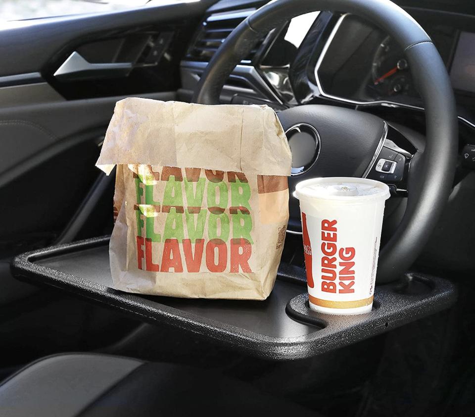 steering wheel lap desk