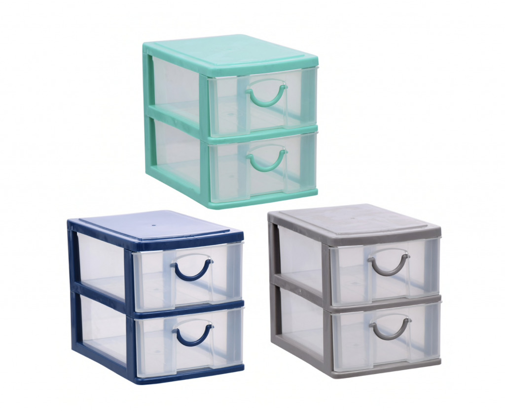 drawers tiered