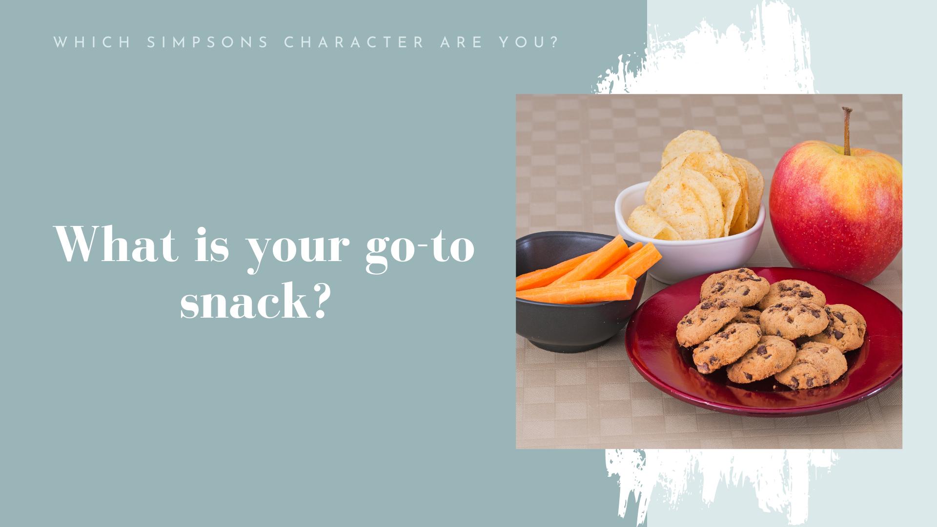 go to snack