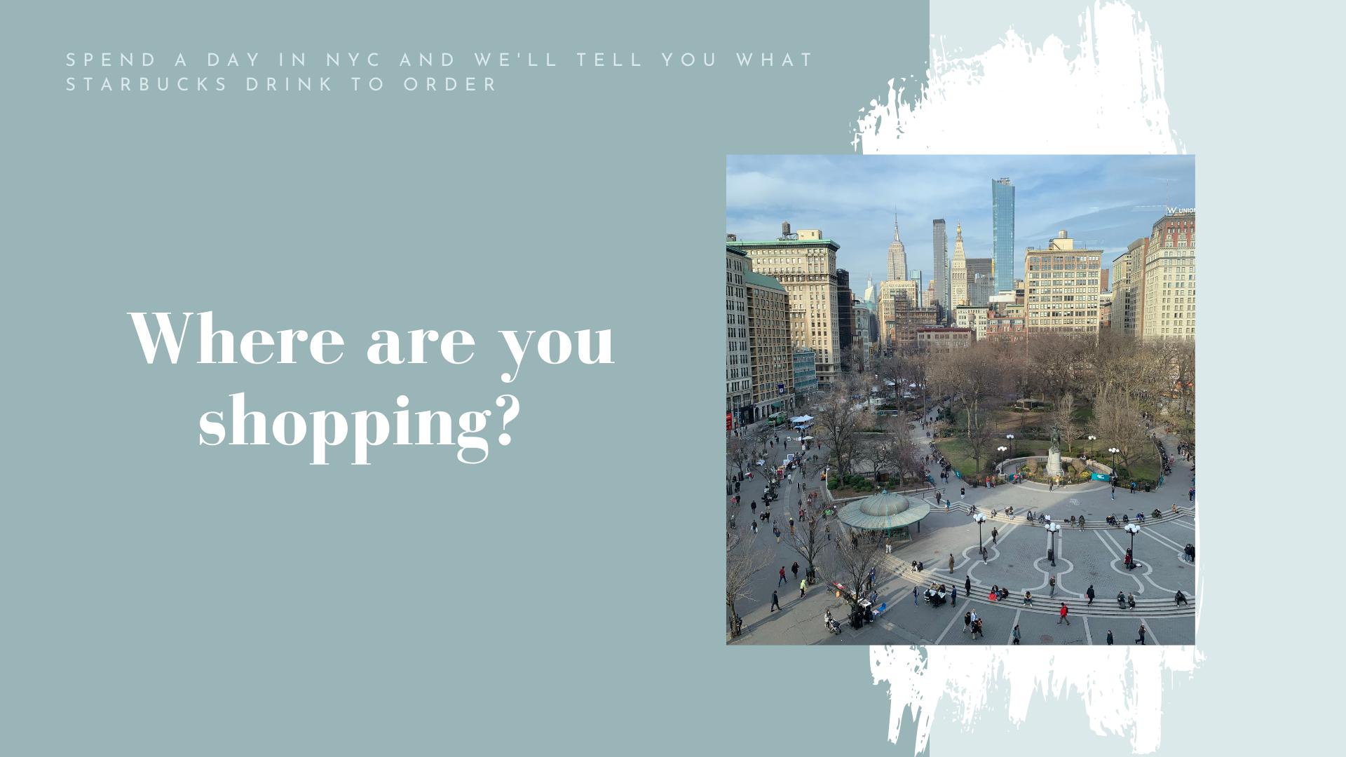 shopping ny