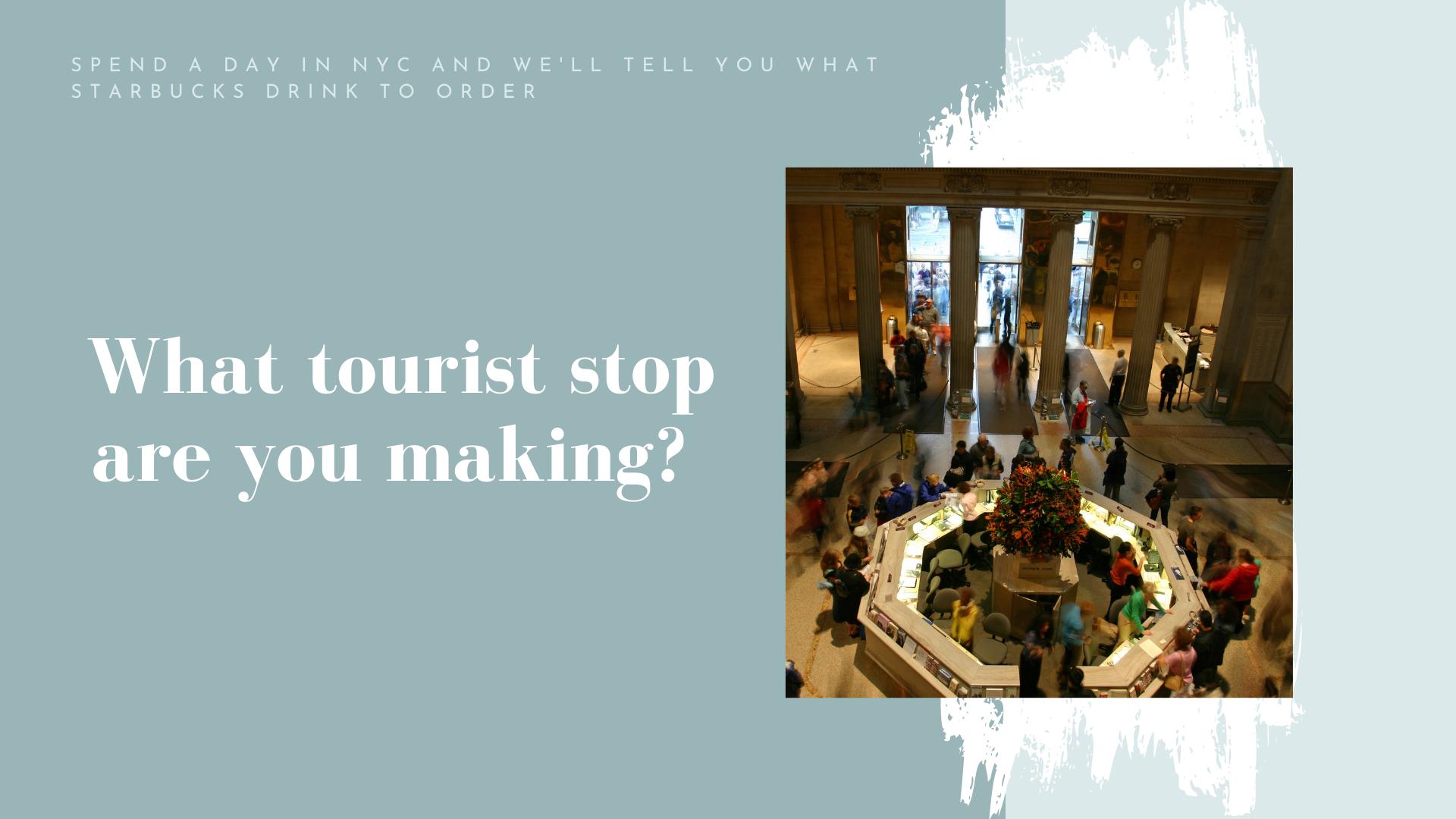tourist stop