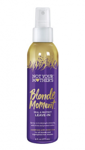blonde hair leave in conditioner