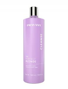 BLONDE hair purple shampoo