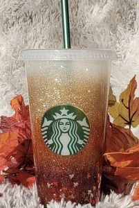 ombre starbucks cup