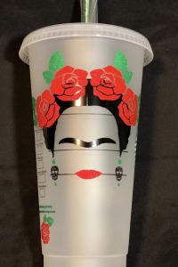 frida kahlo customized cup