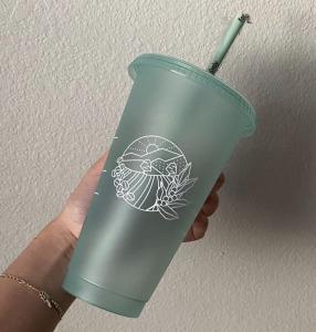 earth starbucks cup