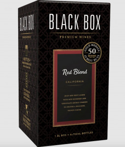 red boxed wine