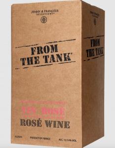 rose boxed wine